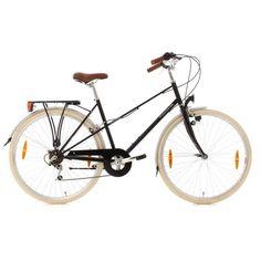 Velo de Ville Go Sport promo Vélo de ville femme Marseille noir TC K 48 cm GO SPORT prix promo Go Sport 251.79 €