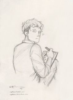 Jean, the artist! :D