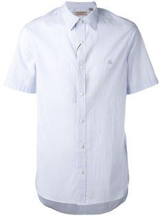 BURBERRY short sleeve shirt. #burberry #cloth #shirt