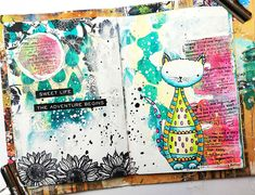 Susanne Rose Designs: Art Journal Page with STAMPlorations