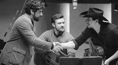 Oscar Isaac, Justin Timberlake and Adam Driver (Inside Llewyn Davis)