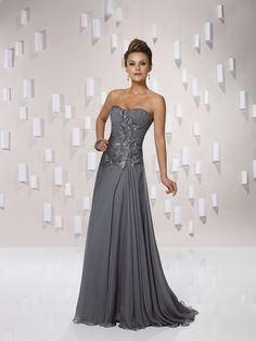 Elegant sleeveless A-line floor-length bridesmaid gowns