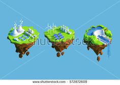 Find Isometric View Low Poly Green Energy stock images in HD and millions of other royalty-free stock photos, illustrations and vectors in the Shutterstock collection. Energy Resources, Low Poly, Go Green, Floating Island, Royalty Free Stock Photos, Concept, 3d, Christmas Ornaments, Holiday Decor