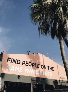 find people on the same wavelength quote friends relationships goals positivity . find people on t Pretty Words, Beautiful Words, Cool Words, Wise Words, Vsco, Retro Aesthetic, Quote Aesthetic, Summer Aesthetic, Aesthetic Collage