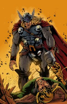 Thor vs Loki •Marcio Abreu