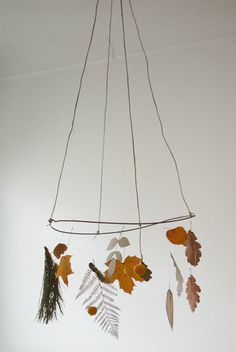DIY Forest mobile / Fine Little Day