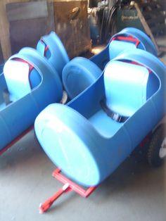 Tambor Barril Outdoor Niño Infantil Ride On Yard Tren Coche