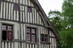 Colombages St Germain de Livet chateau pays d auge