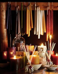 Candle Magick P5  Silver/Grey- Clairvoyance, Astral energy and Intuition       Black - Protection, Binding, Reversing hexes       Magenta - Quick Change - use this candle with other candles to initiate a quick response or fast changes.