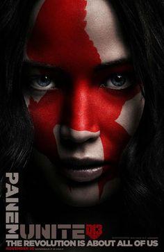 Katniss poster Hunger Games Mockingjay Part 2