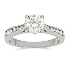 Diamond Engagement Ring my perfect ring Classic Engagement Rings, Diamond Engagement Rings, Dream Wedding, Wedding Day, Wedding Stuff, Halo Setting, Wedding Events, Weddings, Round Diamonds