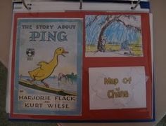 The Story About Ping Lapbook