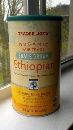 Trader Joe's Organic Ethiopian Coffee