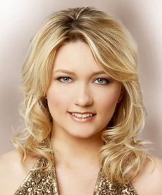 View and try on this Medium Wavy Formal  Hairstyle - Medium Blonde (Golden).