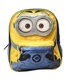 Despicable Me Minion 12 Mini Backpack