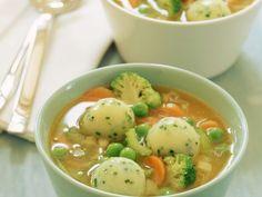 Pasta Soup with Dumplings