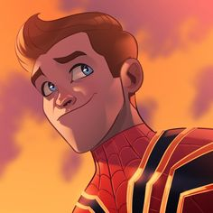 Peter Parker // Spider-Man (the only drawing I don't like, idk, his face just looks off) Marvel Avengers, Marvel Comics, Marvel Heroes, Avengers Cartoon, Marvel Cartoons, Spiderman Movie, Parker Spiderman, Brave, Steve Ditko