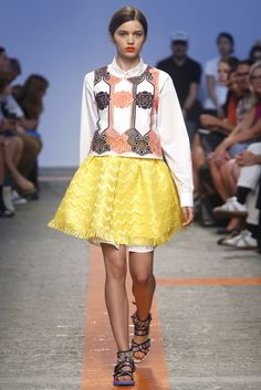 Milan Fashion Week SS 2014 | New looks: romanticism, prints and tropical mood | http://blog.lafabbricadinuvole.it/