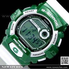 Casio G SHOCK 200M Green White Limited Edition Watch G-8900CS-3 f7db07fcb1