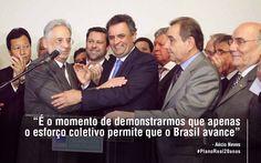 O Plano Real é uma grande herança do governo PSDB. Com o #AecioNeves nossa moeda voltará a ser forte como antes. #ParaMudarOBrasil http://www1.folha.uol.com.br/poder/2014/02/1417151-aecio-organiza-sessao-no-congresso-para-comemorar-20-anos-do-plano-real.shtml