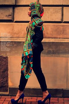 This scarf is the business. hijabi. fashion.
