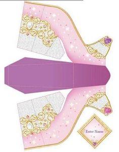 sapato imprimir princesas