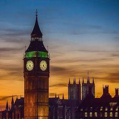 Big Ben sunsets