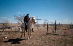 Svetlana Bachevanovan näyttely: Pine Ridge – lakota-intiaanien reservaatti