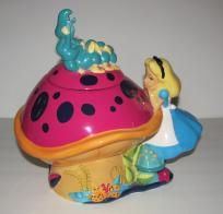 Disney Alice In Wonderland Cookie Jar