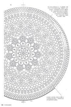 Cirkelvest haken met dit diagram
