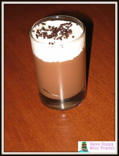 Chocolate Mousse Recipe. This one also looks good. Minus the sprinkles of course!