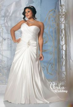 Shop Morilee's Mori Lee Madeline Gardner Bridal Beautiful Beaded Alencon Lace Appliques on Net with Satin Trim Plus Size Wedding Dress. Beaded Alencon Lace Appliques on Net with Satin Trim Plus Size Wedding Dress. Plus Size Wedding Gowns, Wedding Dresses 2014, Wedding Dress Styles, Bridal Dresses, Homecoming Dresses, Bridesmaid Dresses, Mori Lee Bridal, Wedding Dress Gallery, Bridal Gallery