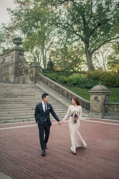 Bōm Photography - New York New Jersey Wedding Photographer | Central Park Engagement Photos | http://www.bom-photo.com