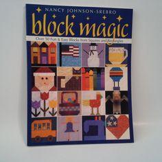 Block Magic by Nancy Johnson-Srebro Paperback Quilt Quilting Book (English)