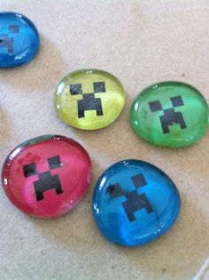Living Smart in Royersford, PA: DIY Minecraft Magnets
