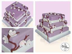 Flor de Cerejeira Bolo / Cherry blossom Cake / Wedding Cake - The Family Cakes