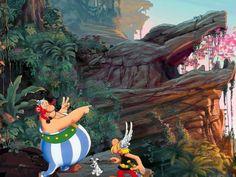 Asterix and Obelix Albert Uderzo, Anime, Geek Stuff, Marvel, Manga, Retro, Wallpaper, World, Cute