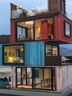 Shed DIY - 15 Unexpectedly Cool Shipping Container Garage Conversion Plans Ideas - Home Decor Ideas Now You Can Build ANY Shed In A Weekend Even If You've Zero Woodworking Experience! Building A Container Home, Container Buildings, Container Architecture, Container House Plans, Architecture Design, Container Pool, Container Office, Sacred Architecture, Cultural Architecture