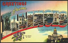 Here Now, 51 Vintage Postcards from the Windy City