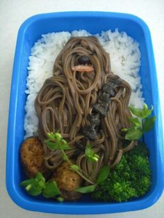 Chewbacca Bento Box - Dixon doesn't really eat a lot of sushi but I bet he'd make an exception for this.