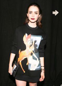 Parisian Chic: Lily Collins