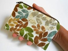 Little Zipper Pouch Coin Purse ECO Friendly Padded by JPATPURSES
