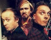 Filthy rich and catflap Filthy Rich And Catflap, Rude Hand Gestures, Rik Mayall, British Comedy, Young Ones