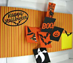 Karen's Kreative Kards: Video - Pop Up Holiday Cards with Karen Burniston Photo Collage Dies for Halloween