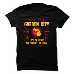 #Garden City - Its where story begin, Order HERE ==> https://www.sunfrog.com/Hobby/Garden-City--Its-where-story-begin-69949772-Guys.html?6782, Please tag & share with your friends who would love it , #jeepsafari #superbowl #birthdaygifts