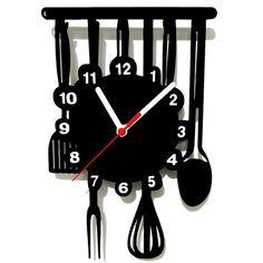 Relógio de Parede Decorativo Cozinha | Extra.com.br