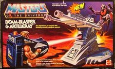 Beam Blaster & Artilleray He Man Thundercats, He Man Figures, 80 Toys, New Adventures, Box Art, Vintage Toys, Masters, Action Figures, Childhood