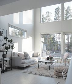 Pin by misa on living in 2019 My Living Room, Interior Design Living Room, Living Room Designs, Living Room Decor, Living Spaces, Casa Loft, Beautiful Living Rooms, Home Decor Shops, Scandinavian Home