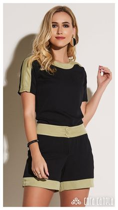 Cute Casual Outfits, Cute Summer Outfits, Short Outfits, Casual Dresses, Fashion Wear, Hijab Fashion, Fashion Outfits, Spring T Shirts, Block Dress
