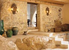 traditional interior house design in France